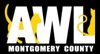 Animal Welfare League of Montgomery County AWL (Gaithersburg, Maryland) logo with cats